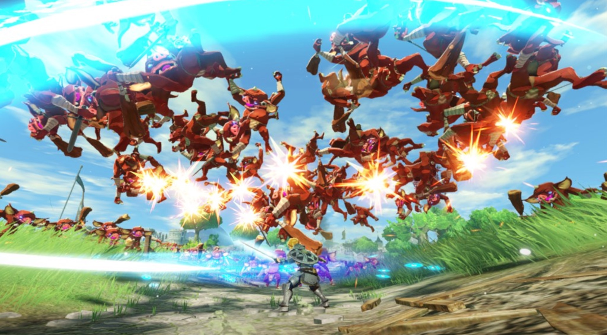 Hyrule Warriors: Age of Calamity Gets New Screenshots Showing off Playable  Characters & More