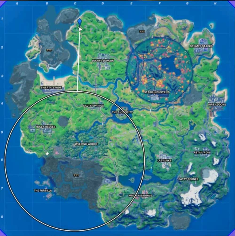 where to find trask transport truck in fortnite