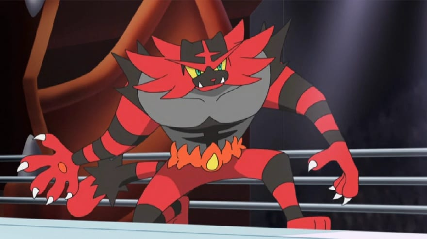 incineroar, pokemon