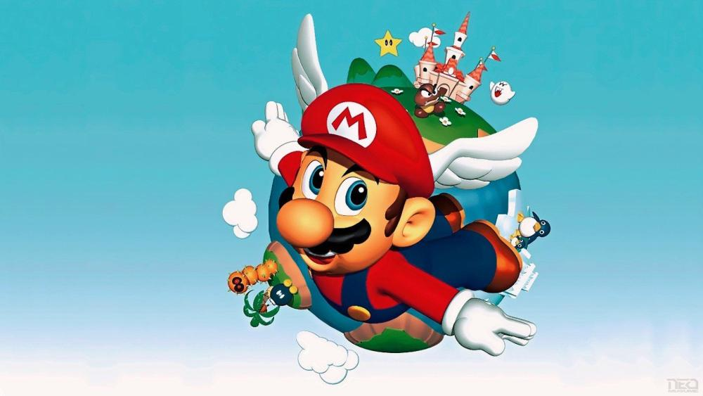 super mario 64, super mario 3d all stars wallpaper