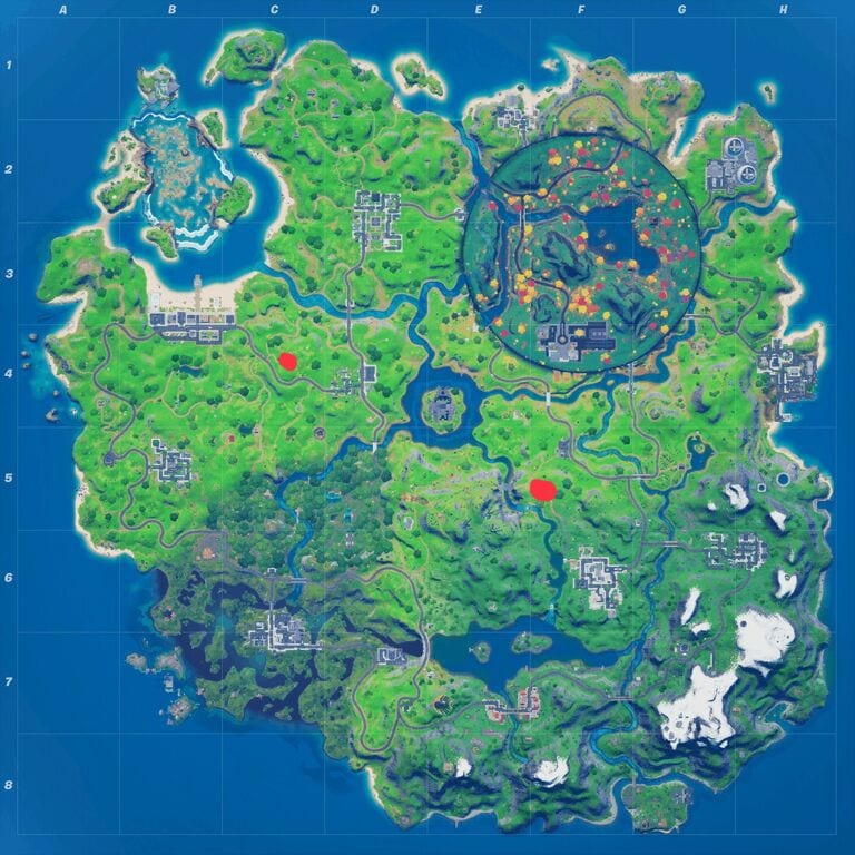 Fortnite witch broom locations