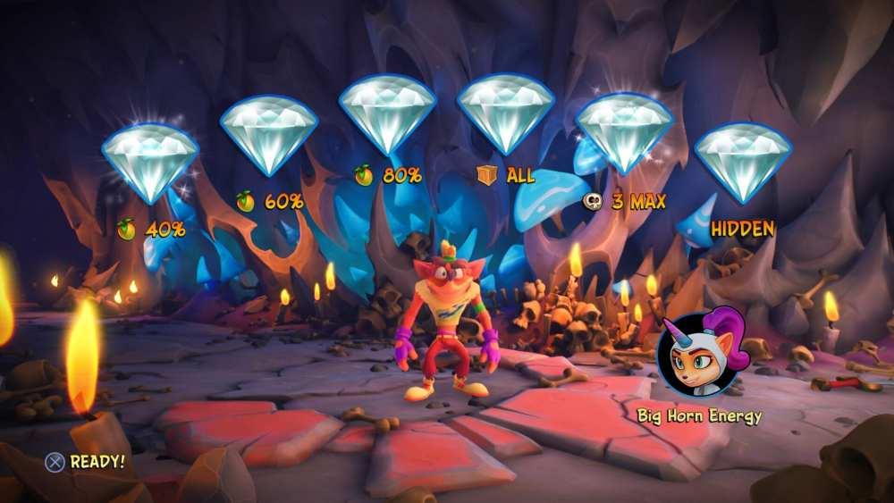 crash 4 how to get all gems