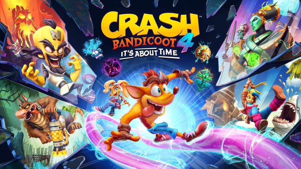 Best Crash Bandicoot 4 It S About Time Wallpapers For Your Desktop Background