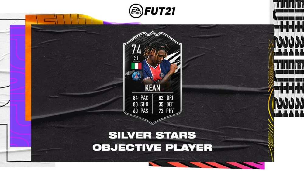 fifa 21, silver stars moise kean