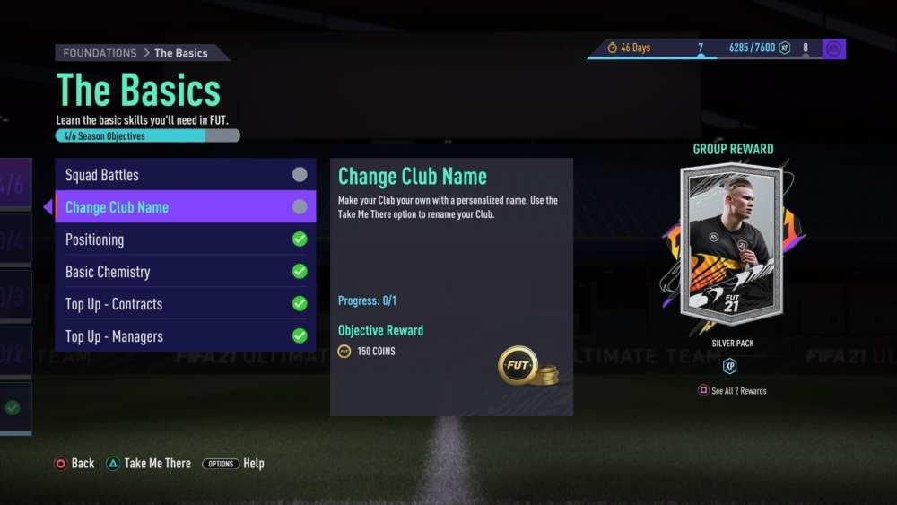 fifa 21, ultimate team squad name