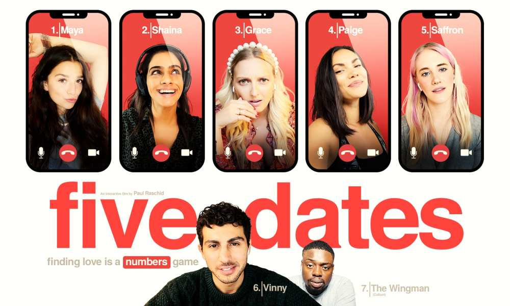 Live-Action Interactive Rom-Com, Five Dates, Coming to PC, PS4, Xbox One, & Switch Next Month