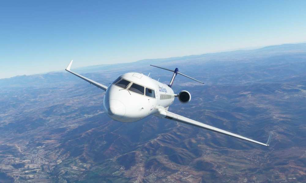 New Screenshots of CRJ for Microsoft Flight Simulator Shared by Aerosoft with Comments on SDK Progress