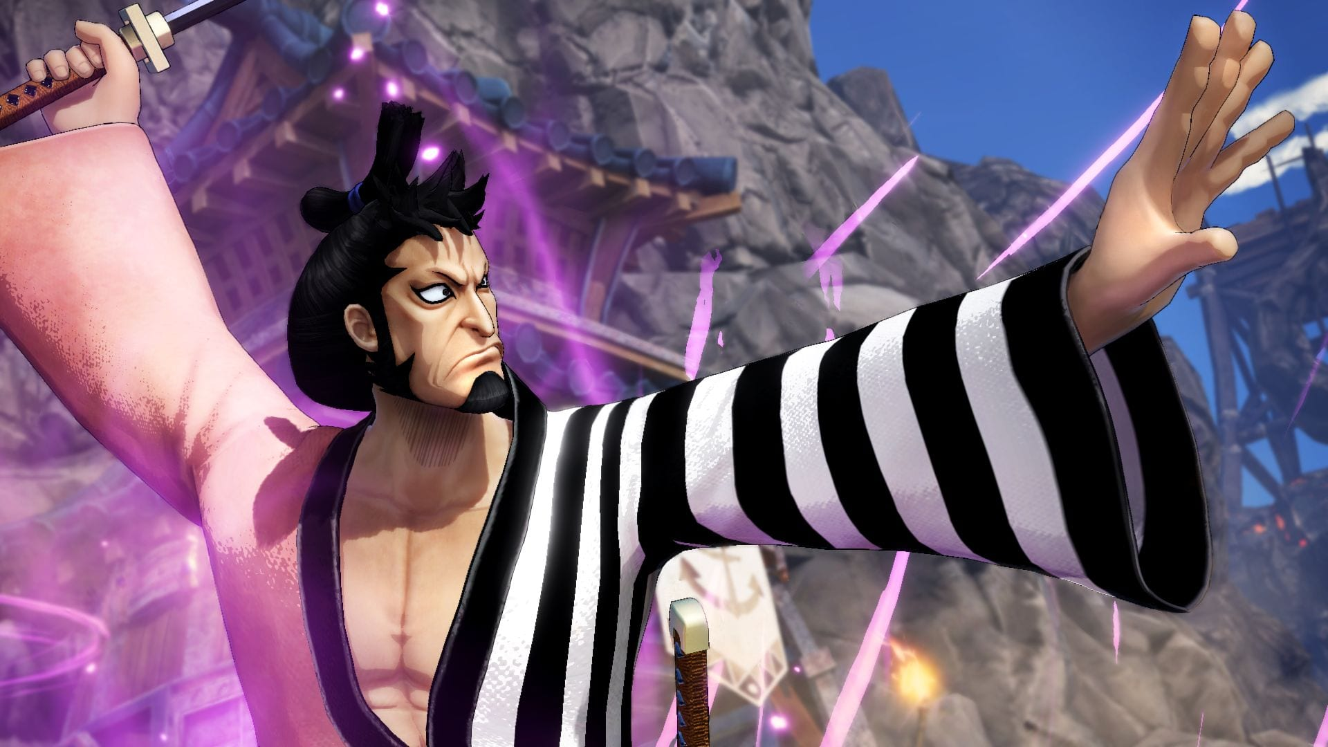 One Piece: Pirate Warriors 4 Will get New Trailer Displaying Kin'emon DLC Character in Motion 1
