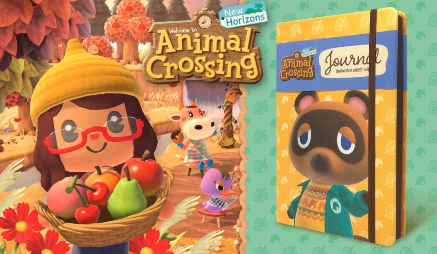 Purchase Animal Crossing: New Horizons at Goal and Get a Free Journal 1