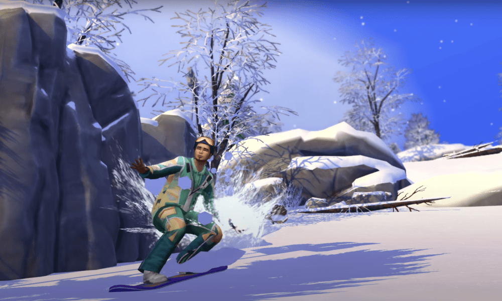 The Sims 4 Snowy Escape: New Gameplay Trailer Released