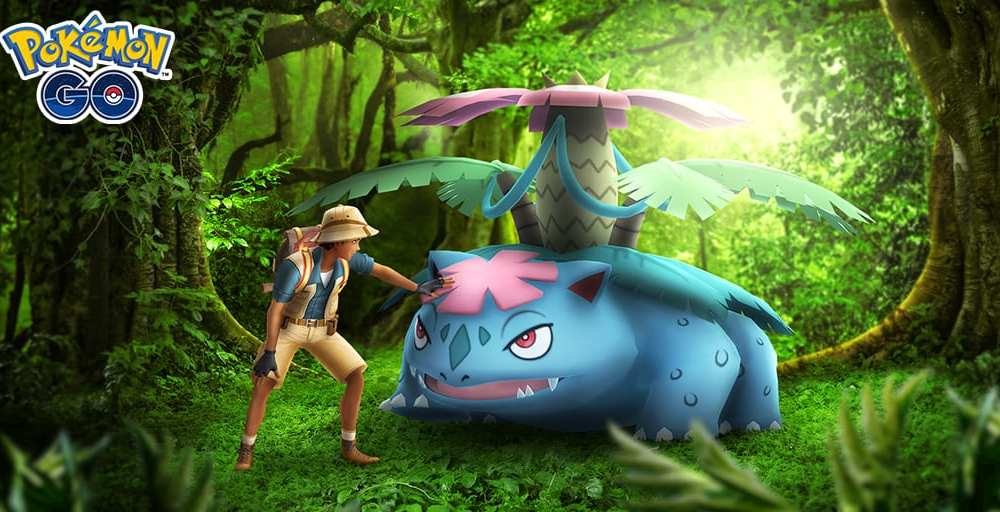 Pokemon Go Changing Mega Raid Lineup by Removing Mega Venusaur
