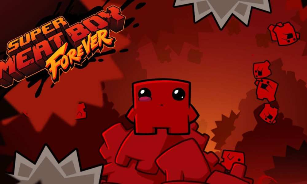 New Super Meat Boy Forever Gameplay Footage Shown in 10th Anniversary Steam