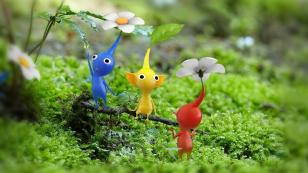 three pikmin