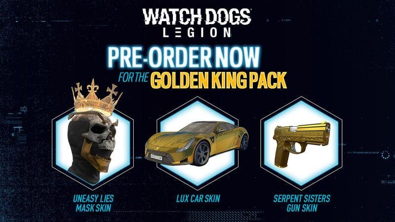 watch dogs legion golden king dlc