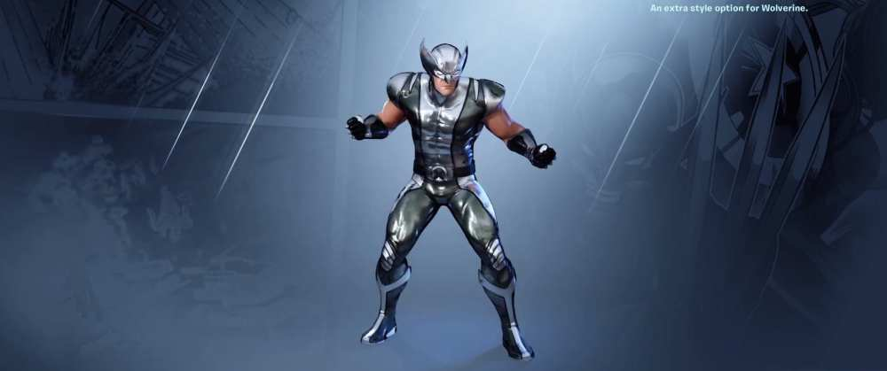 fortnite silver wolverine