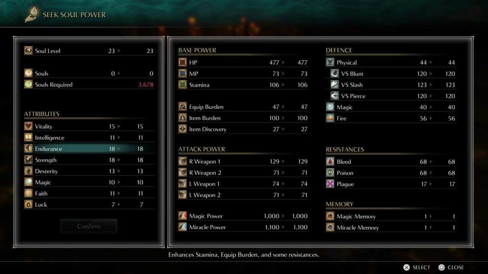 demon's souls inventory