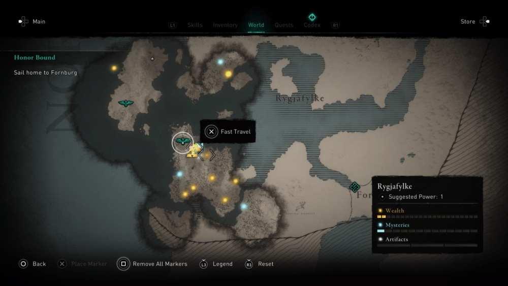 assassin's creed valhalla, fast travel