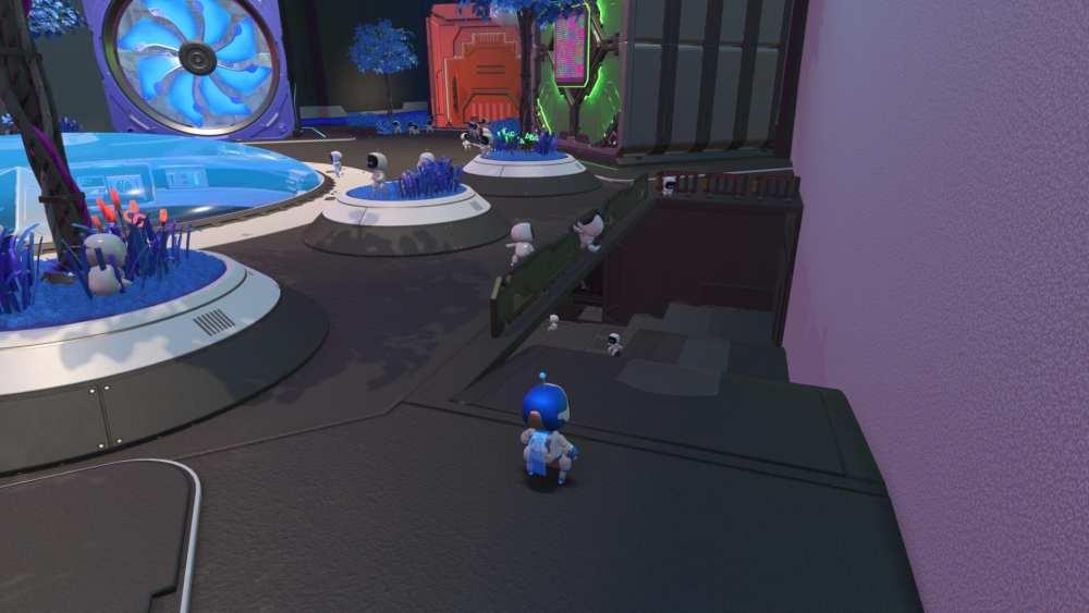 astro's playroom, basement