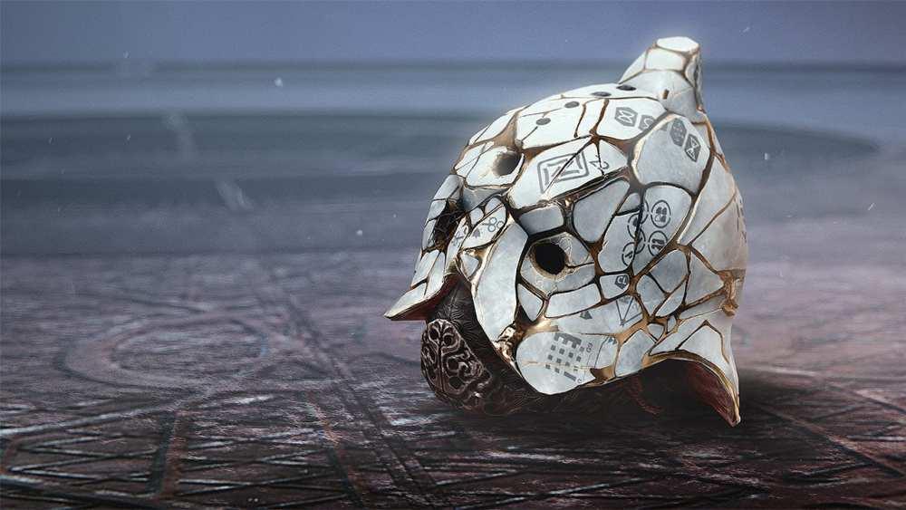 Precious Scars Titan Exotic Helmet, destiny 2