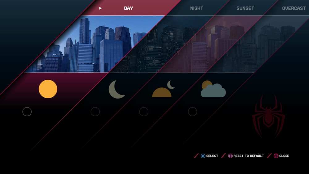 How to Change Time of Day in Miles Morales ps4 ps5