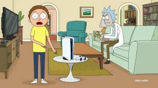 PS5 Rick Morty