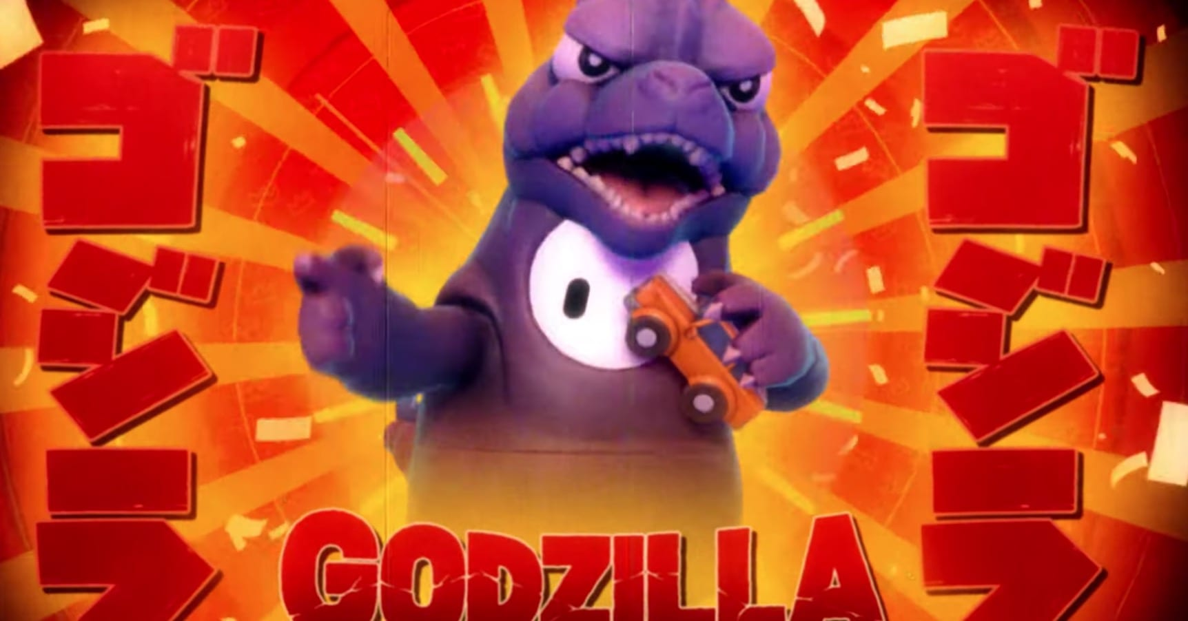 Fall Guys Now Has a Godzilla Costume 1
