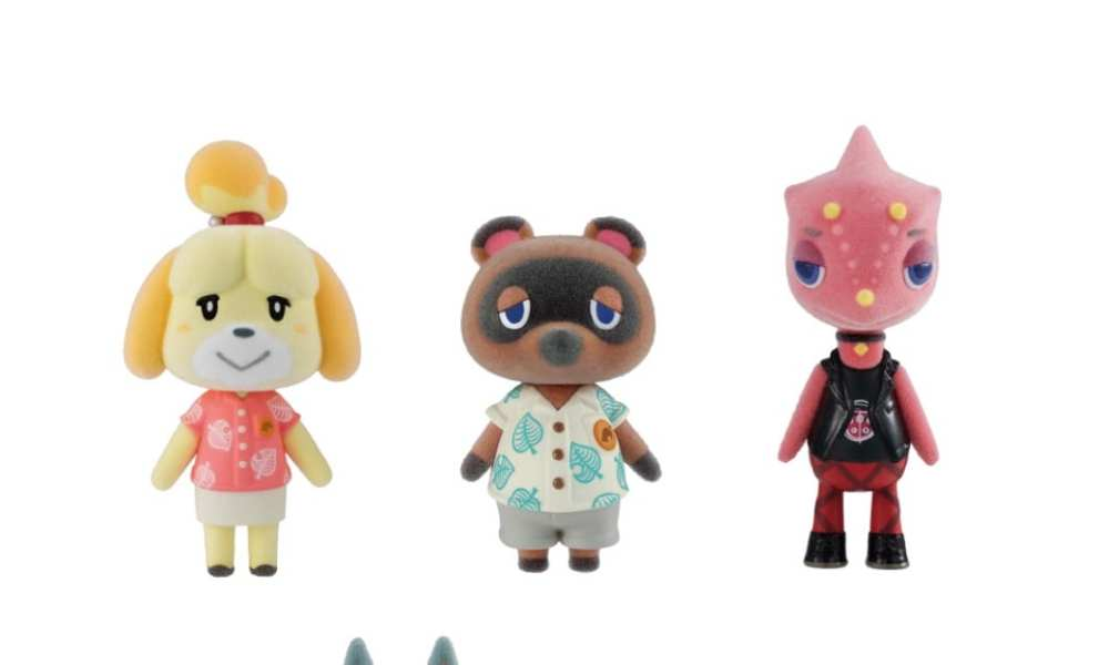 These Adorable Animal Crossing Figures Will Release in Japan in 2021 (With Candy!)