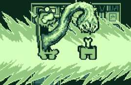 among us game boy demake