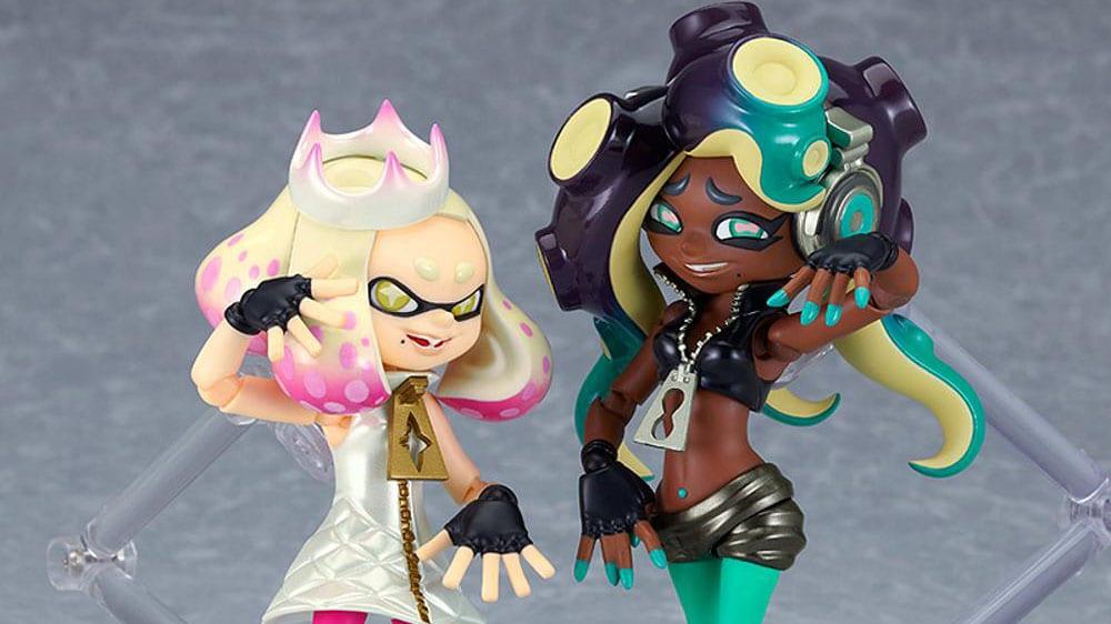 Splatoon 2 Getting Pearl & Marina Figma Figures by Good Smile Firm 1