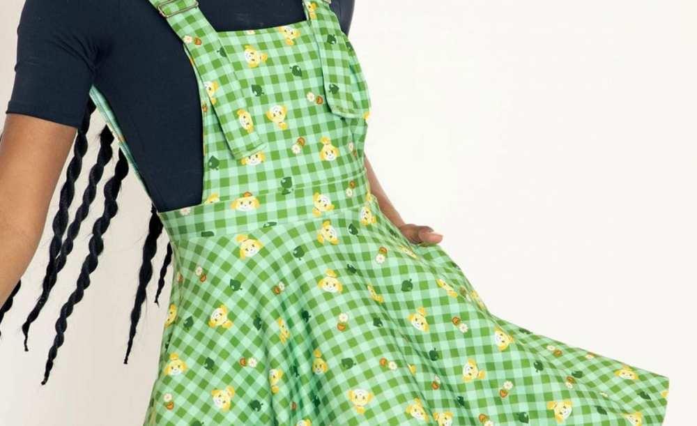 isabelle dress, animal crossing