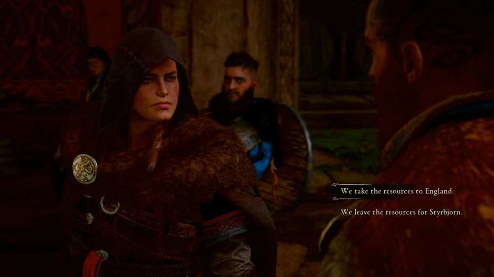 assassin's creed valhalla supplies decision
