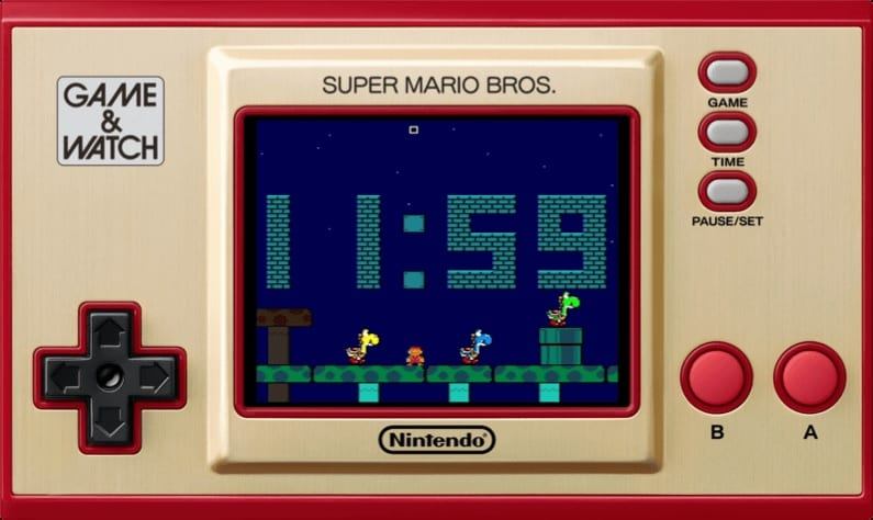clock, game & watch
