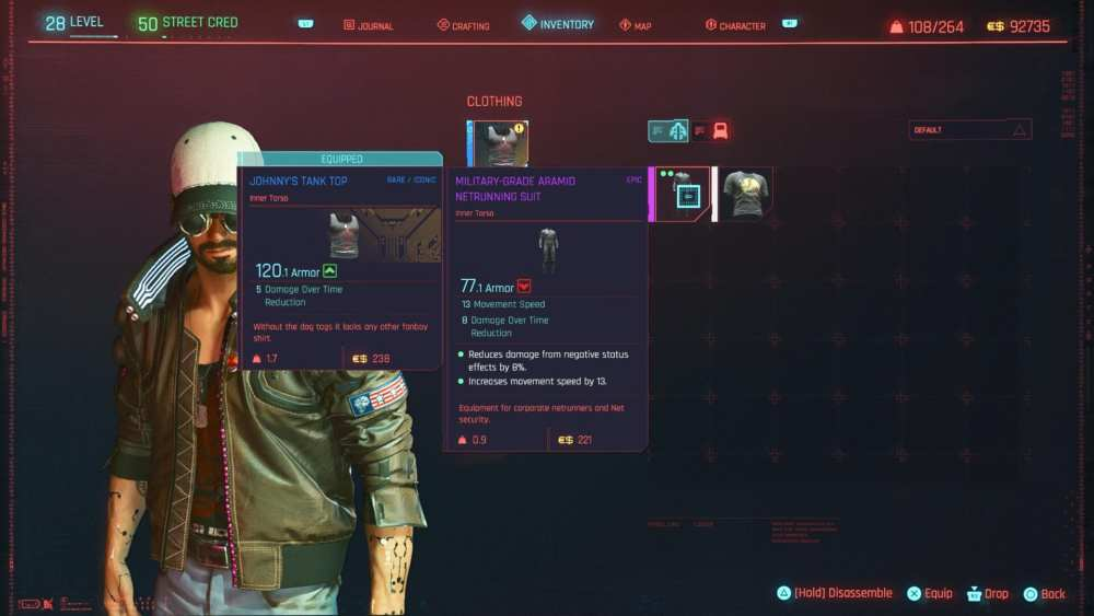 How to Get All Johnny Silverhand Items in Cyberpunk 2077