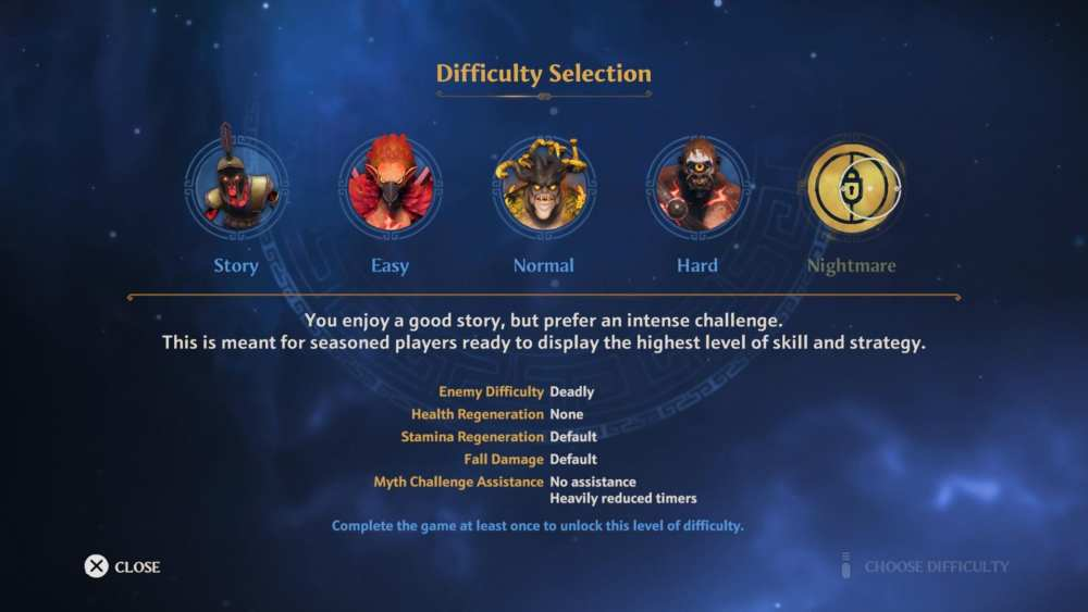 immortals fenyx rising nightmare difficulty