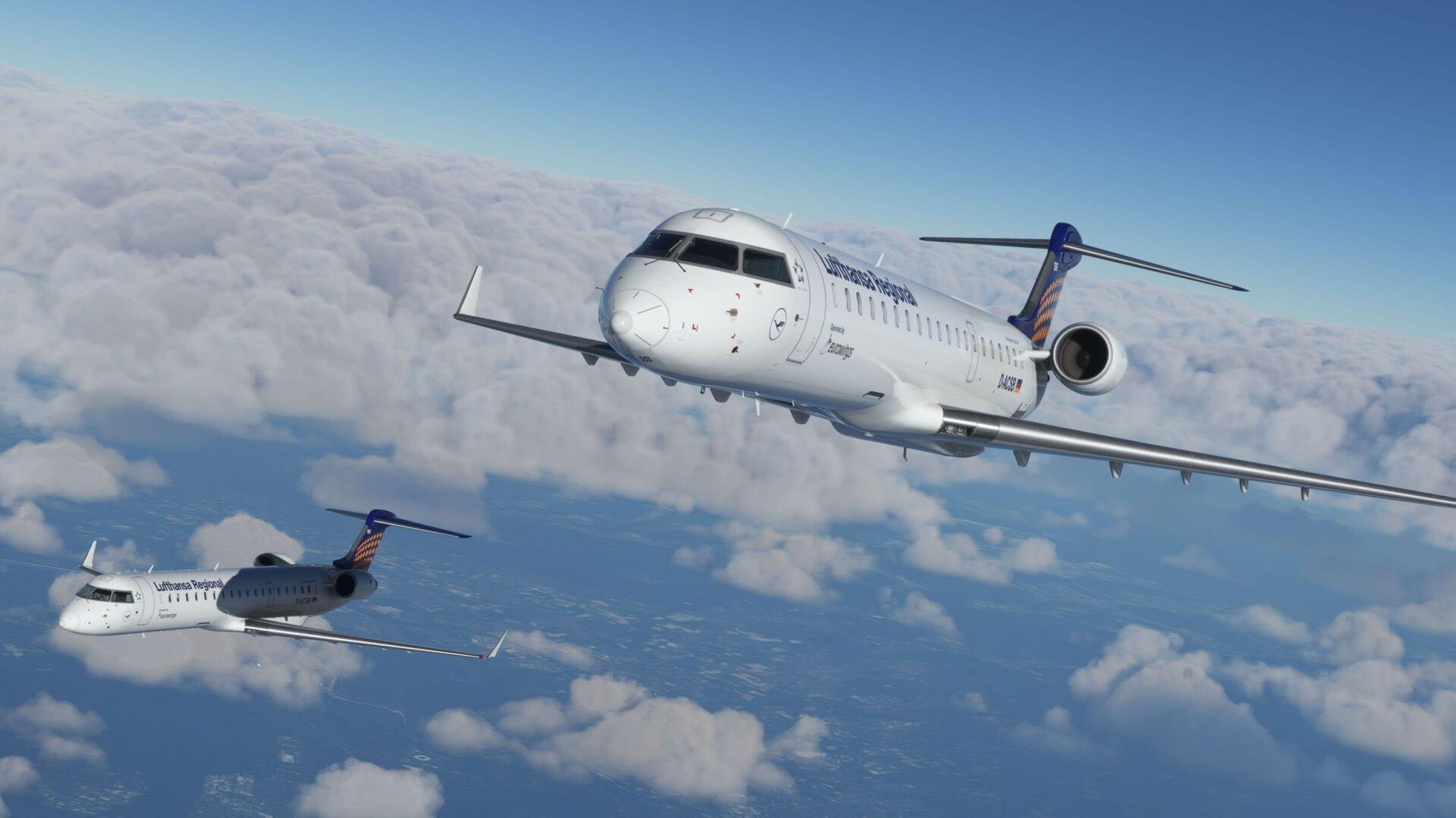 Microsoft Flight Simulator CRJ Add-OnReveals Even Extra Spectacular Screenshots as Beta Take a look at Begins 1