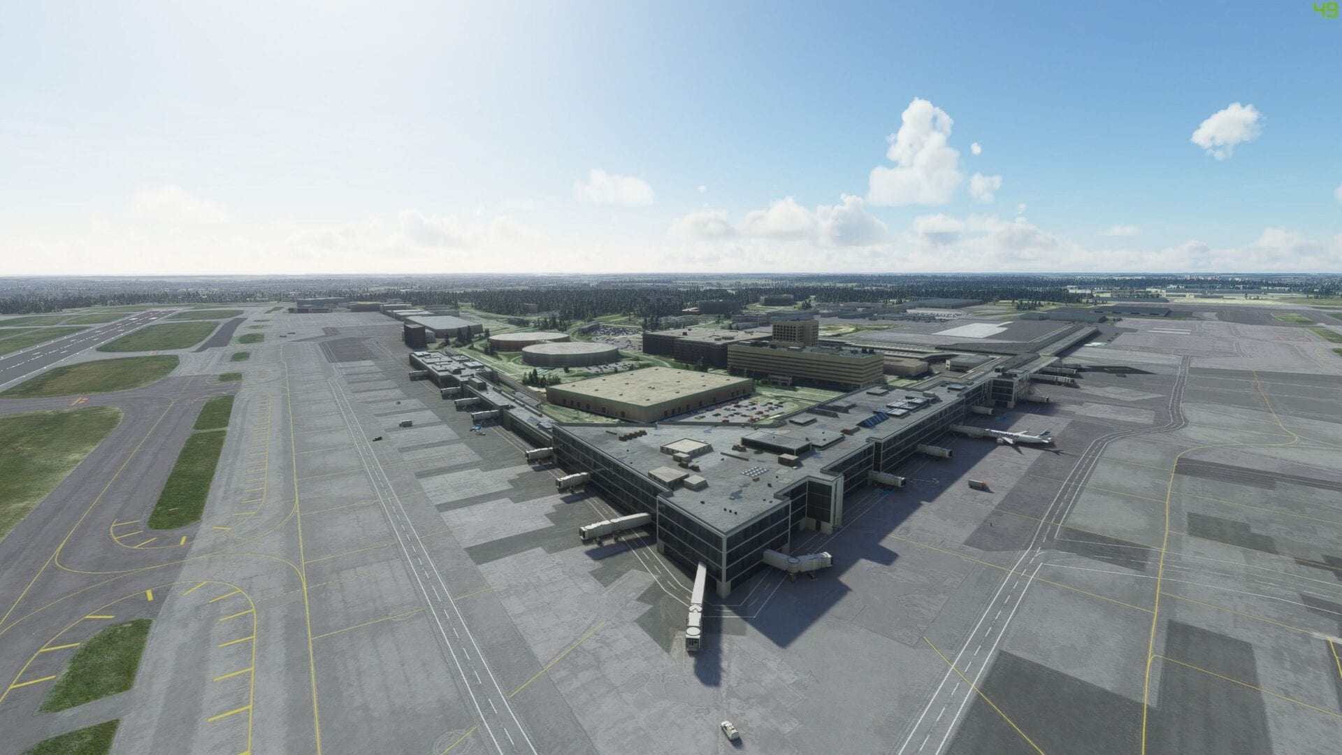 Microsoft Flight Simulator Helsinki Airport Review
