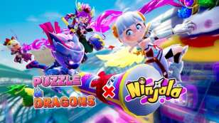 ninjala puzzle and dragons collab