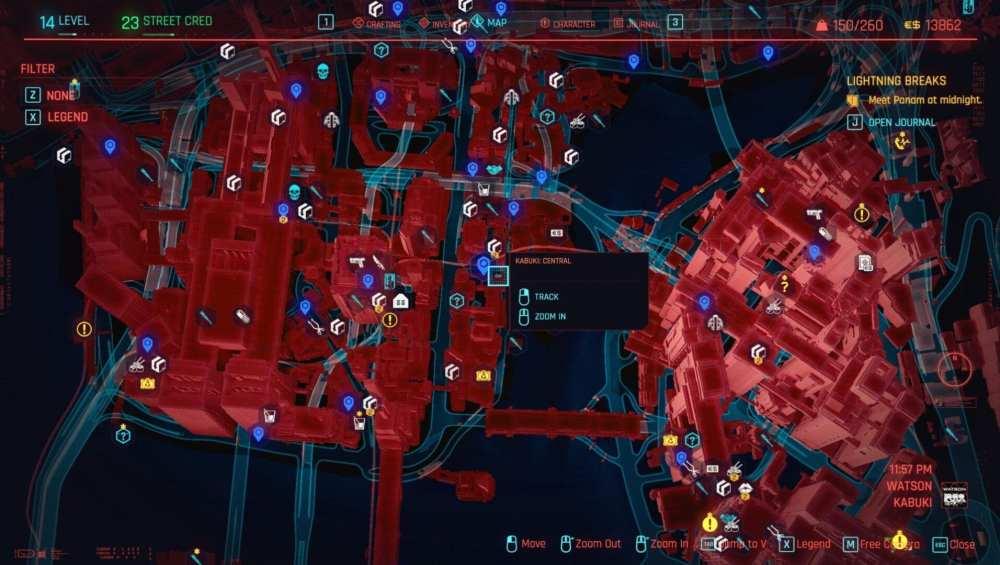 cyberpunk 2077 no tell motel location