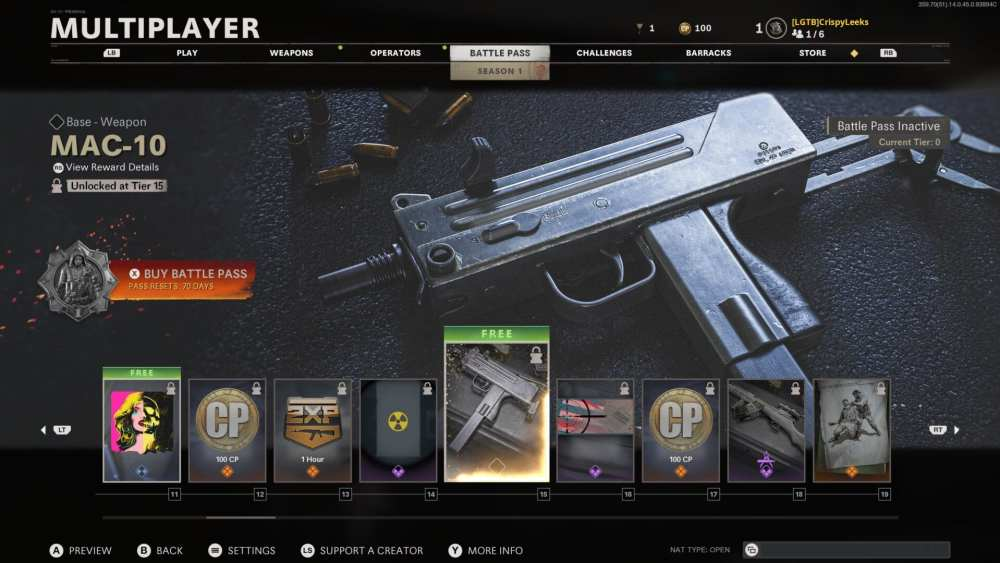 black ops cold war mac-10