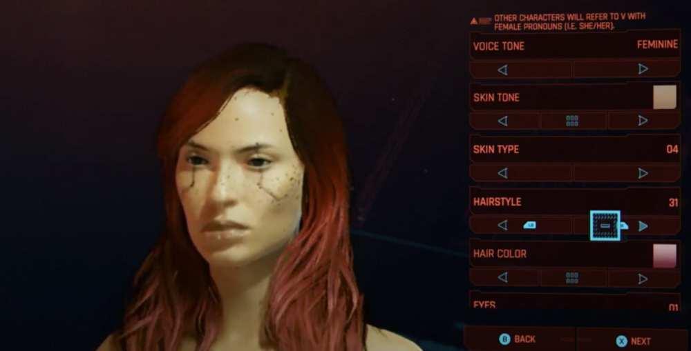 cyberpunk 2077 hairstyles