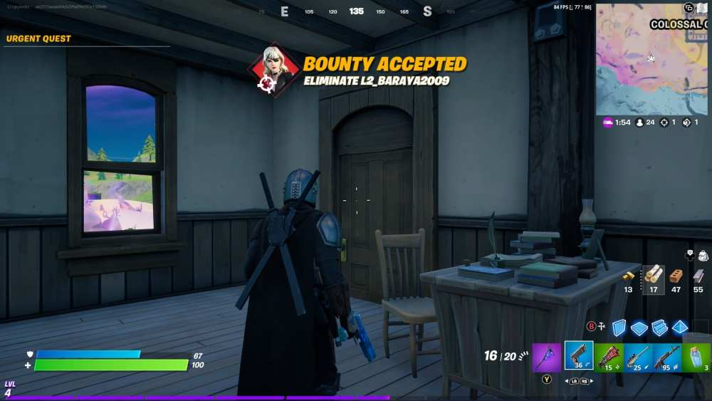 fortnite bounty