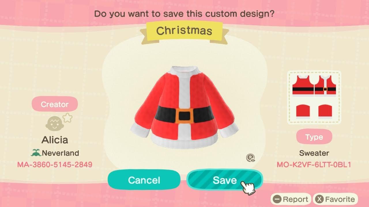 Santa Suit Sweater