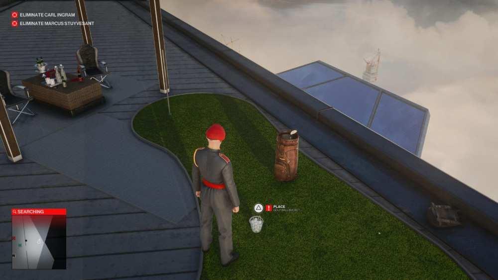 hitman 3 pelota de golf explosiva