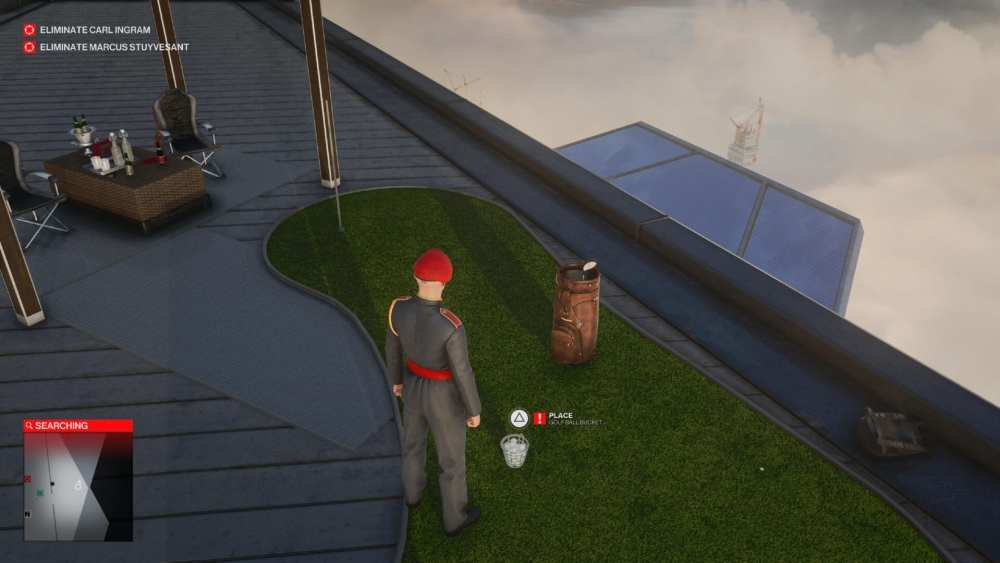 hitman 3 explosive golf ball