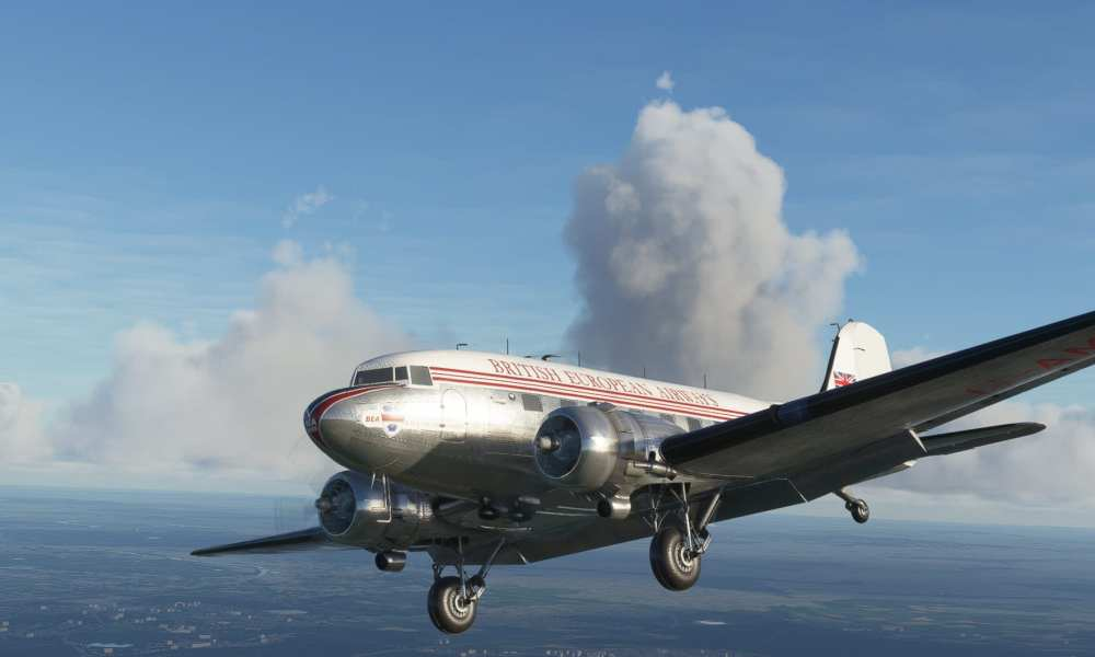 Microsoft Flight Simulator Douglas DC-3 Revealed by Aeroplane Heaven With Gorgeous Screenshots