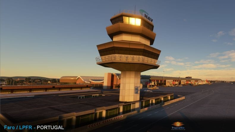 Microsoft Flight Simulator Faro Airport Add-On Launched by TropicalSim 1