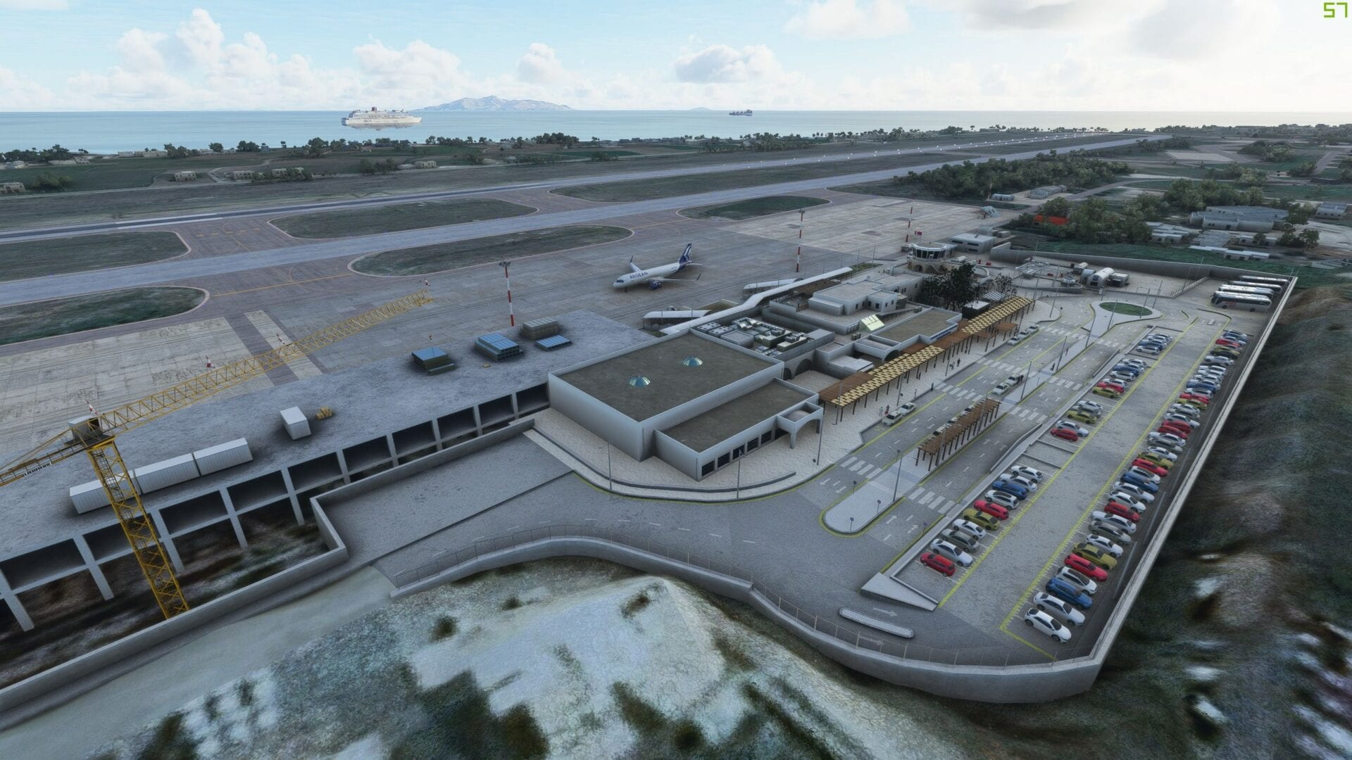 Microsoft Flight Simulator Santorini Airport