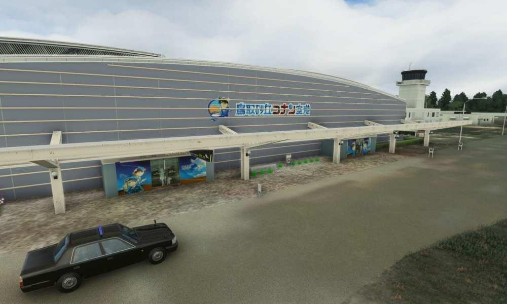 Detective Conan's Own Tottori Airport Released For Microsoft Flight Simulator