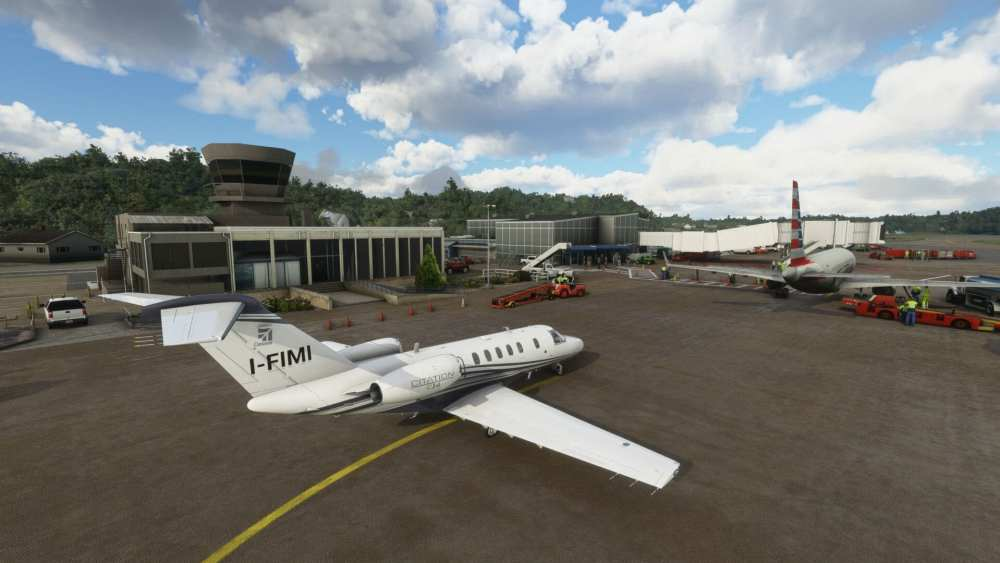 Microsoft Flight Simulator Tweed New Haven
