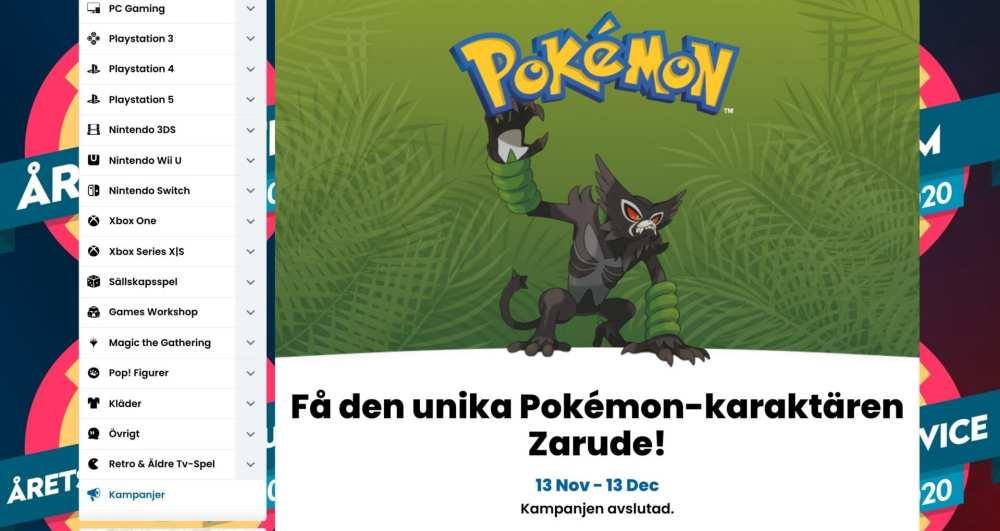 Pokemon Zarude